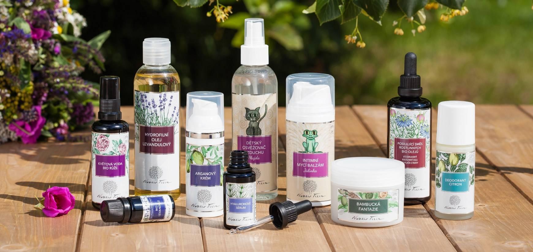 Certifikovaná kosmetika: záruka kvality a přírodního původu - přírodní kosmetika Nobilis Tilia