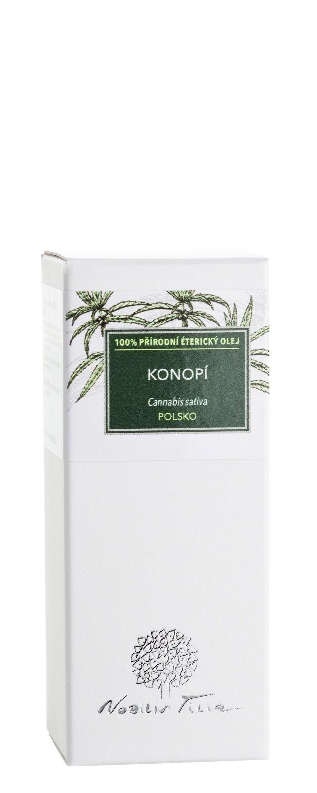 Éterický olej Konopí: 1 ml