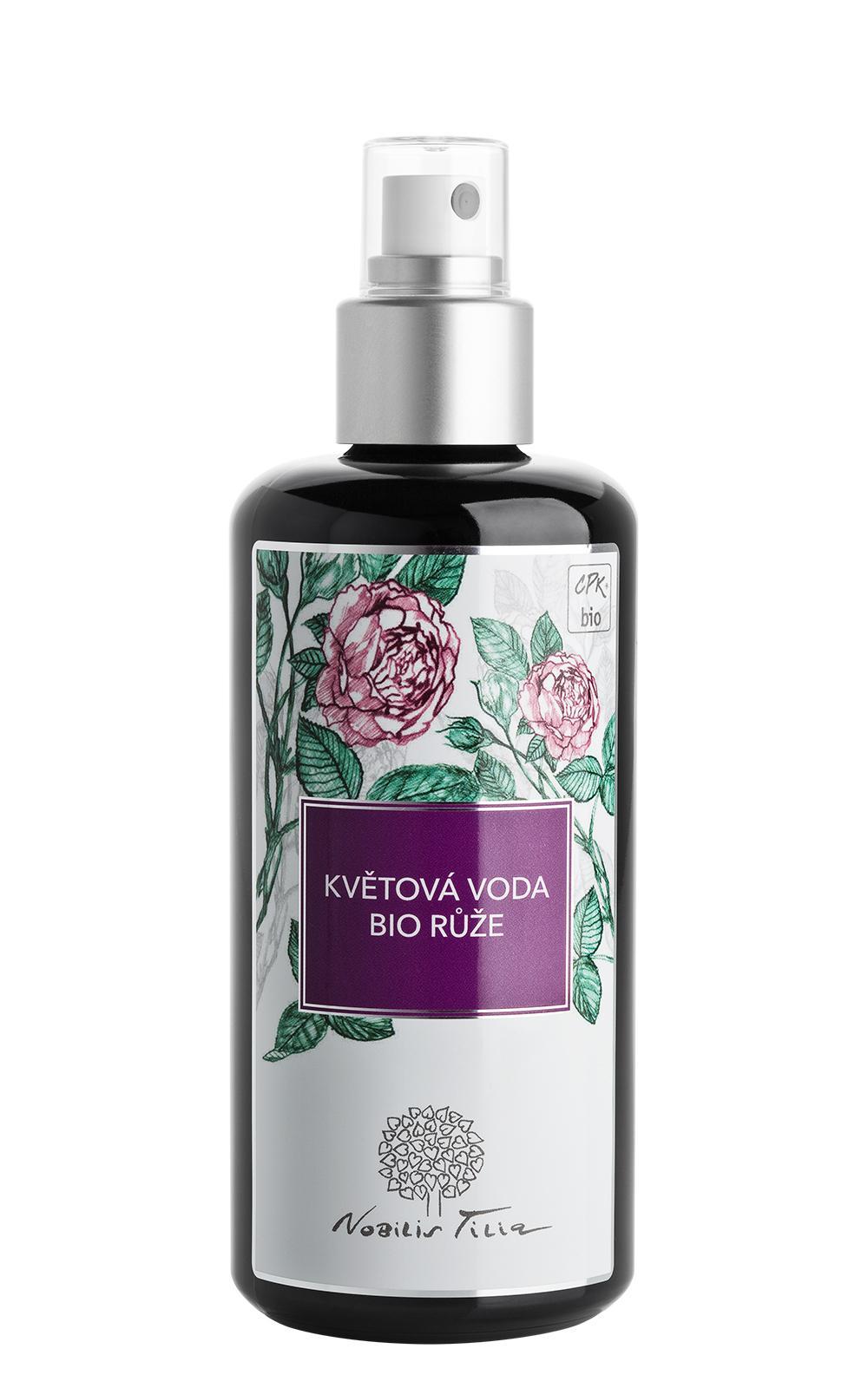 Květová voda BIO Růže: 200 ml sklo