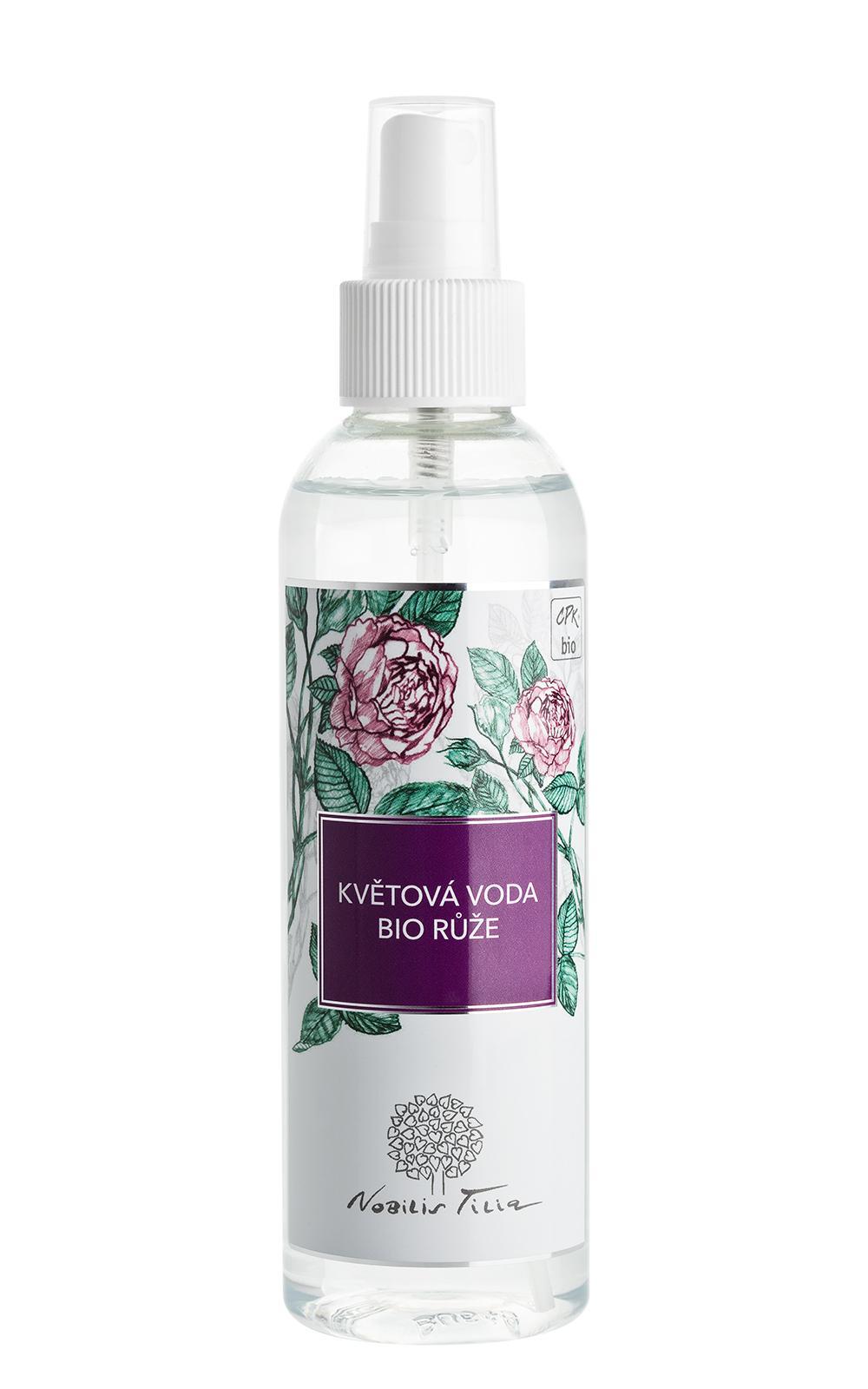 Květová voda BIO Růže: 200 ml plast