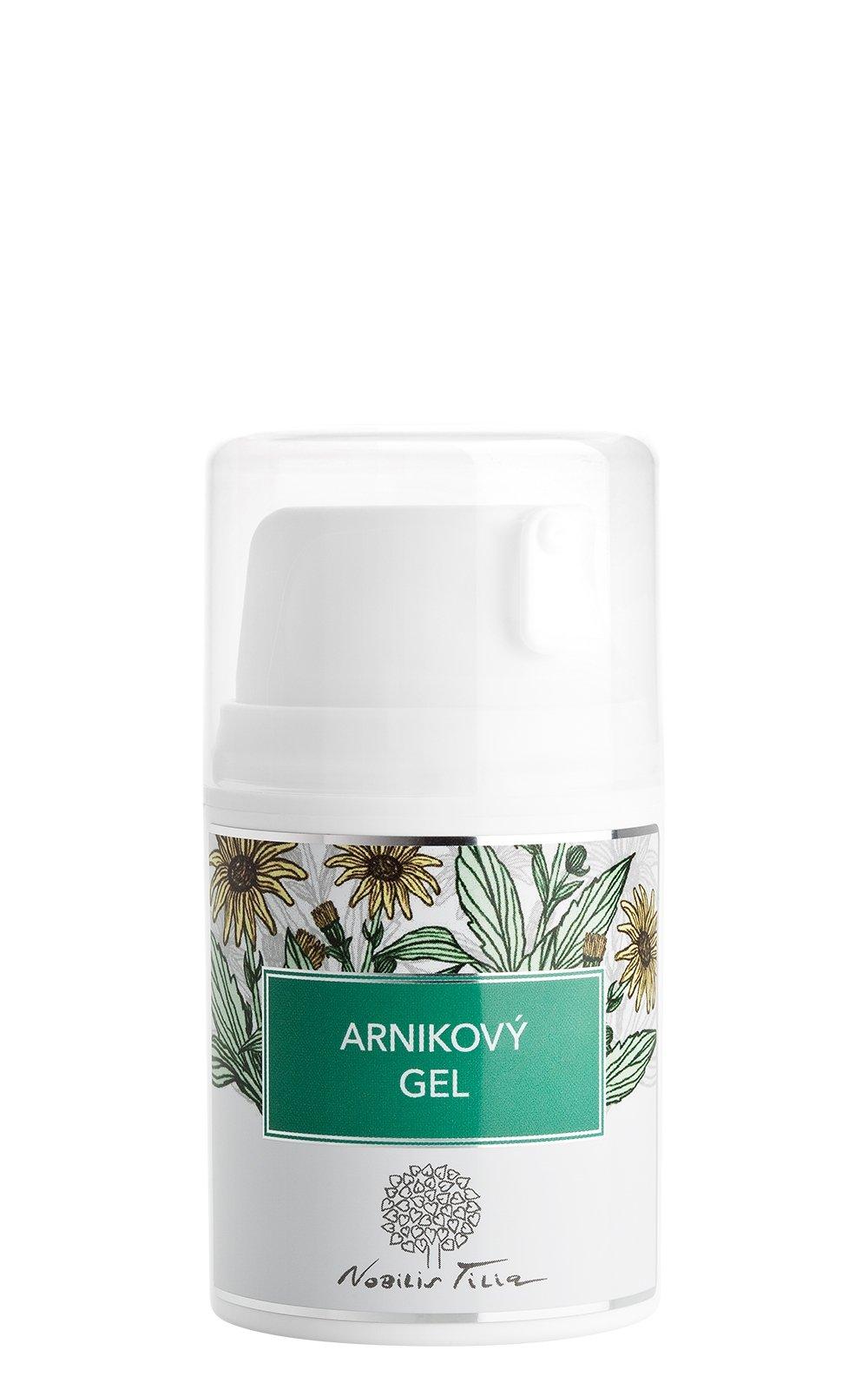 Arnikový gel: 50 ml