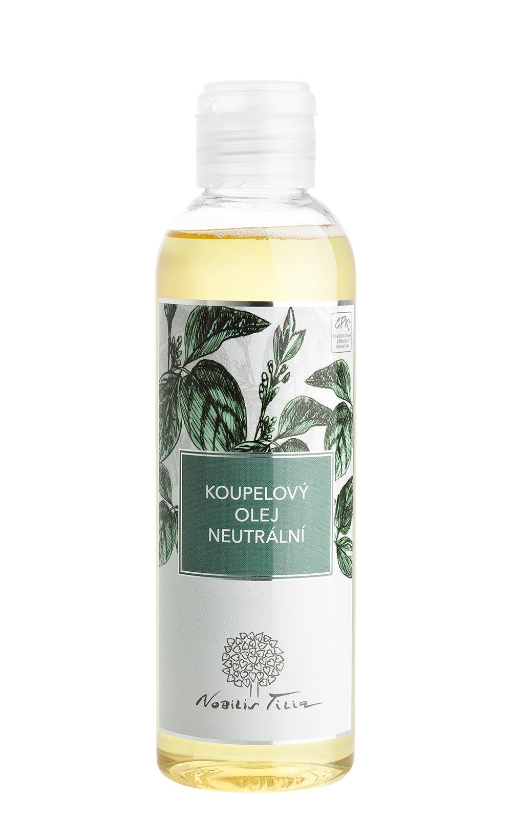 Koupelový olej Neutrální: 200 ml