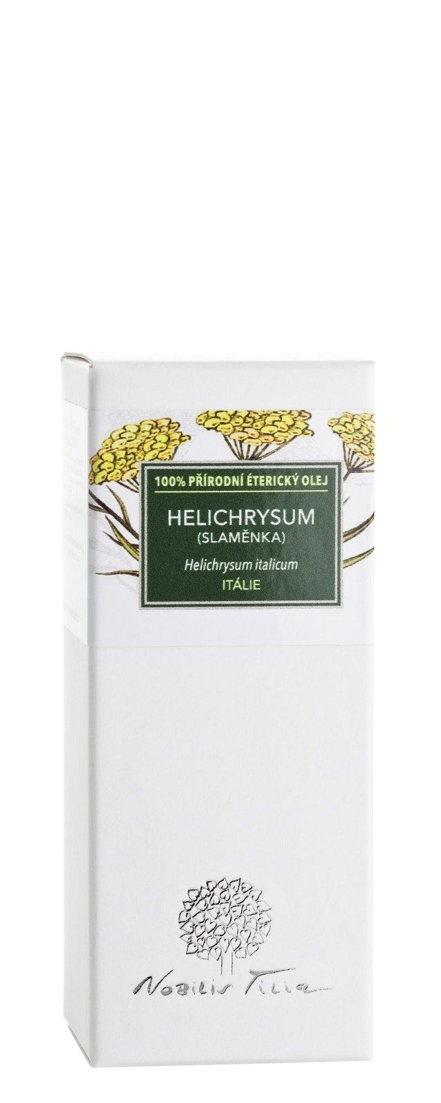 Éterický olej Helichrysum (slaměnka): 1 ml