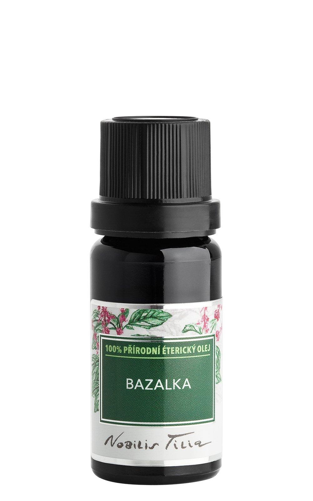 Éterický olej Bazalka: 10 ml