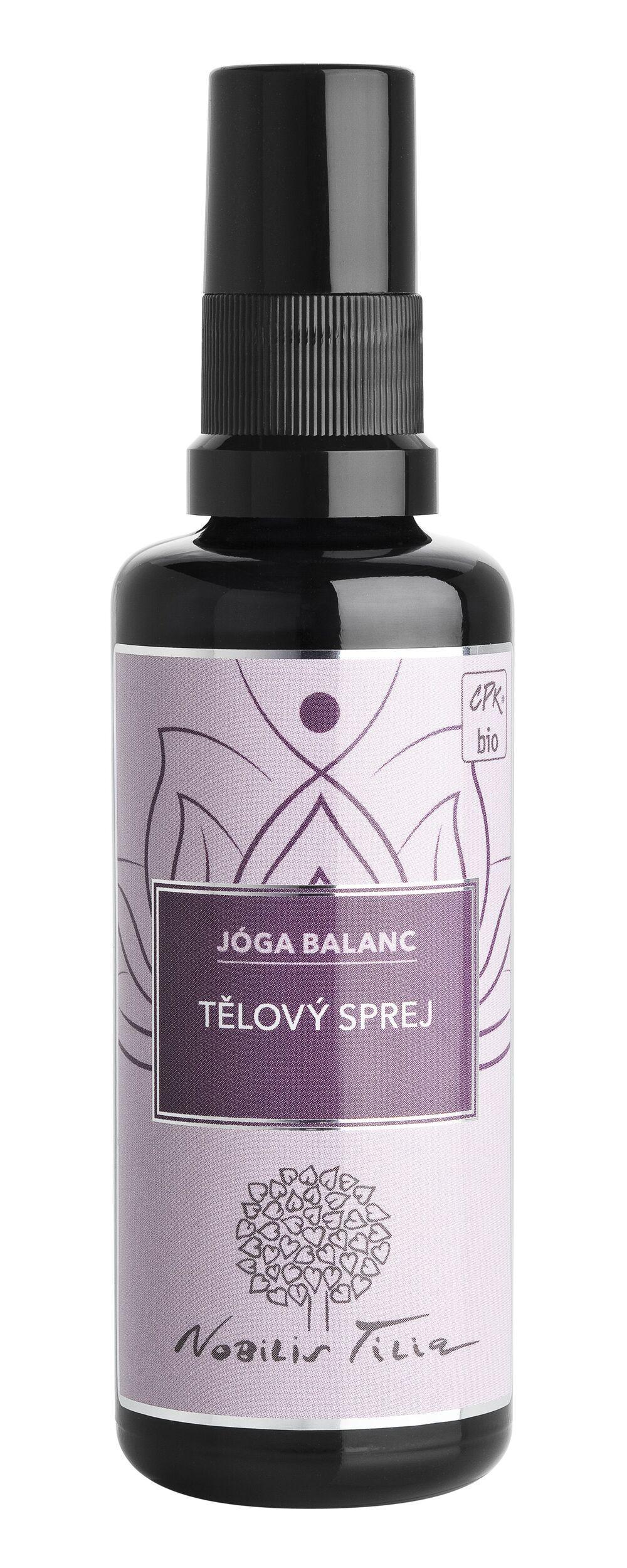 Tělový sprej Jóga balanc: 50 ml