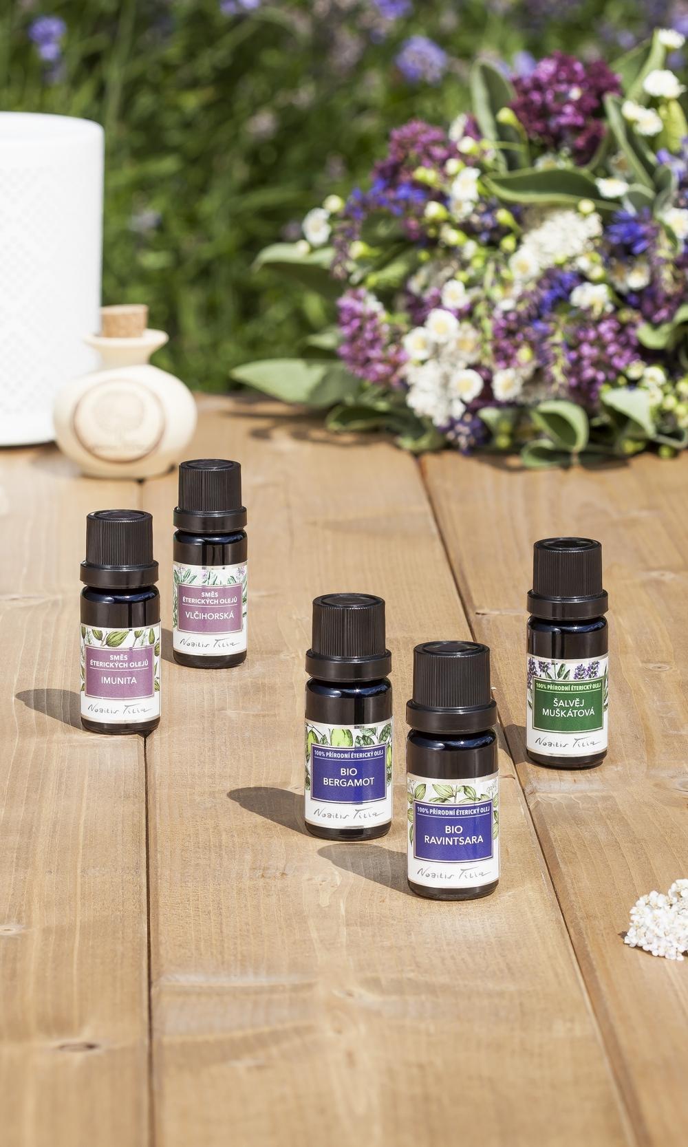 Aromaterapie pro zdraví ženy: ONLINE, 02. 11. 2021