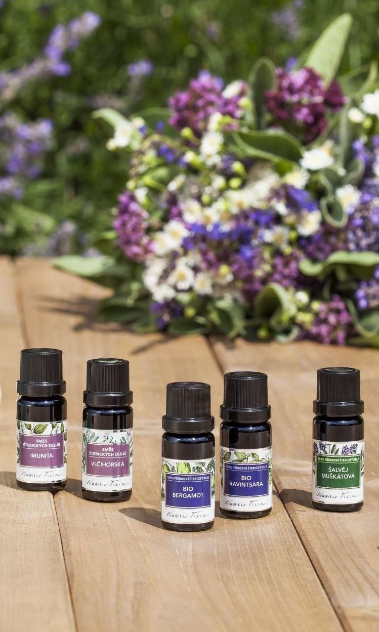 Praktická aromaterapie pro každého: ONLINE, 23. 11. 2021