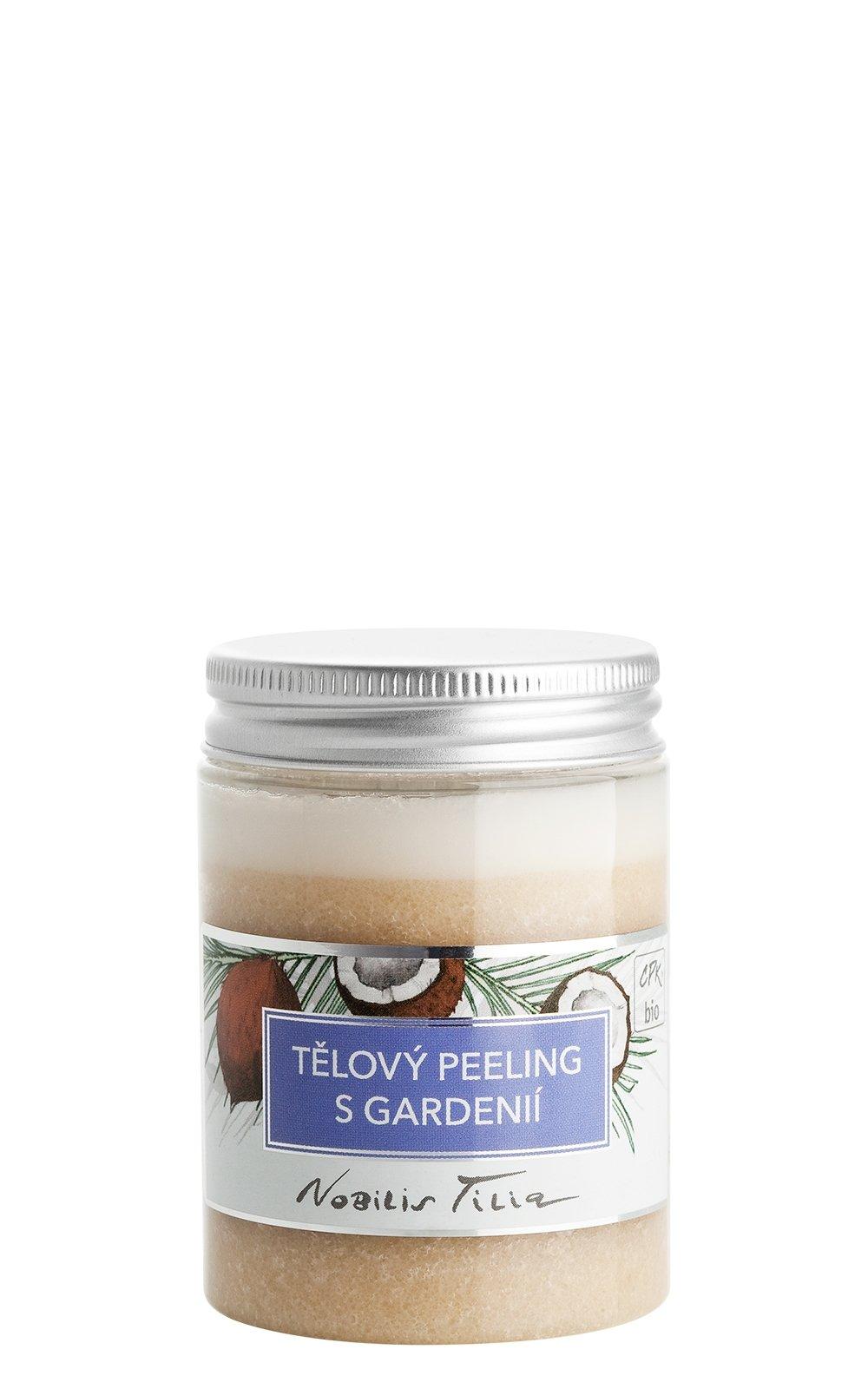 Tělový peeling s gardenií