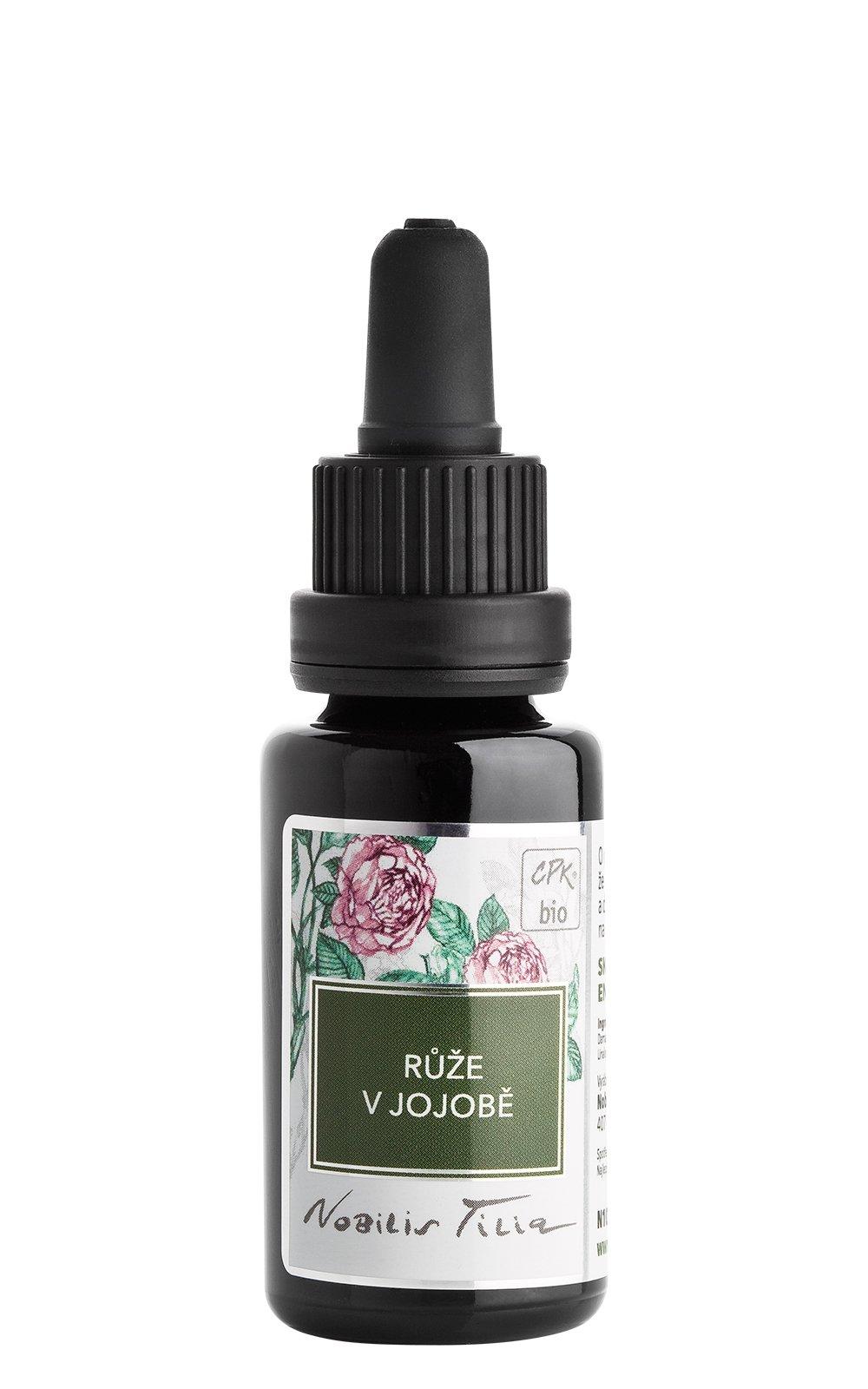 Růže v jojobovém oleji