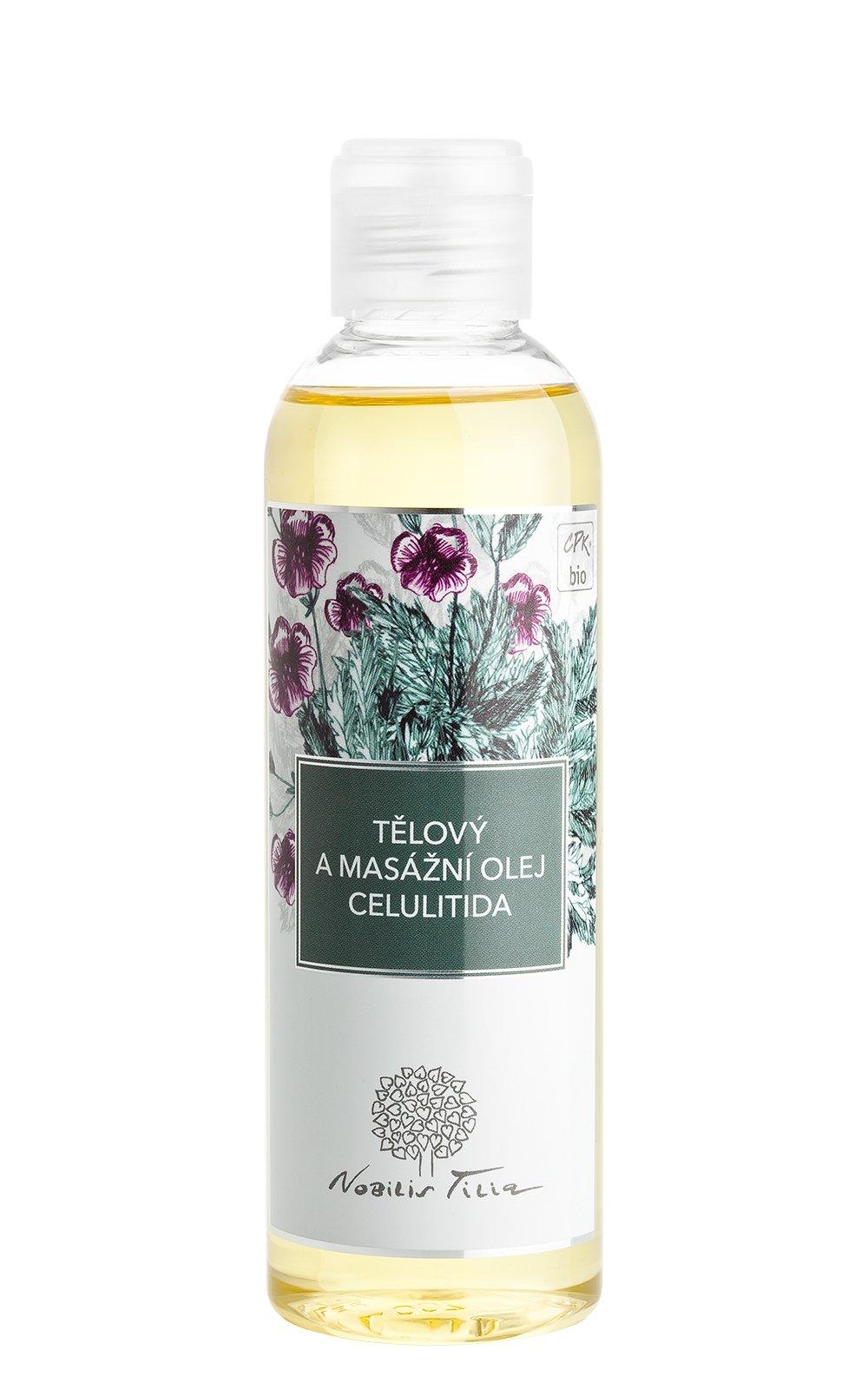 Tělový a masážní olej Celulitida
