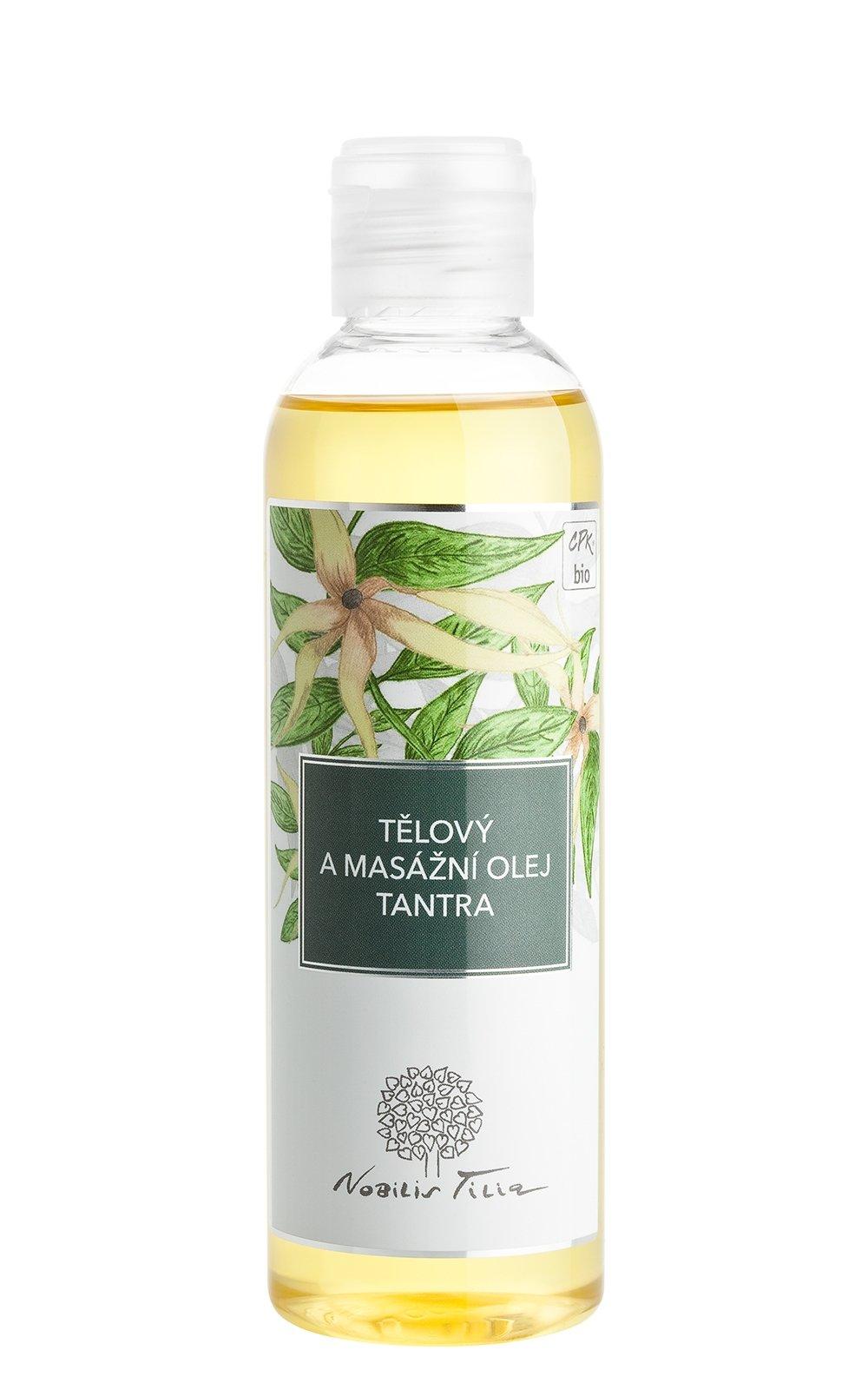 Tělový a masážní olej Tantra