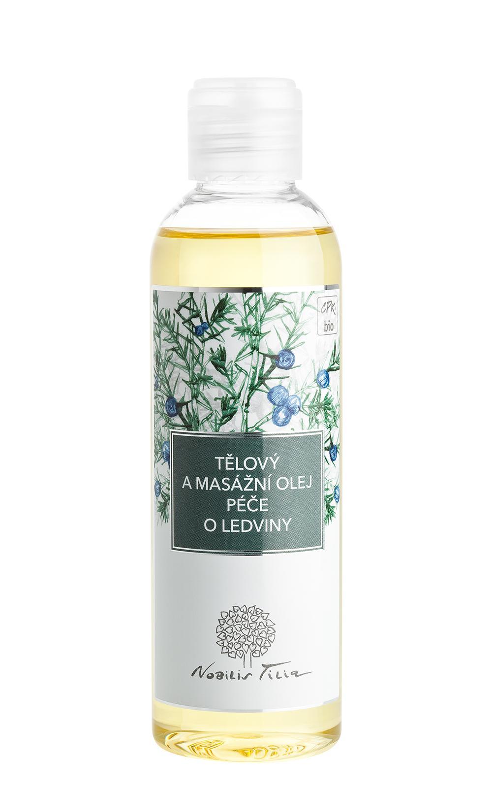 Tělový a masážní olej Péče o ledviny