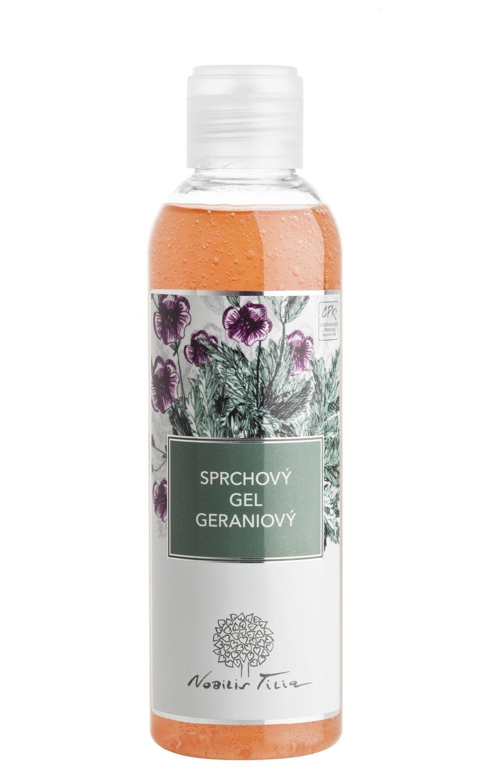 Sprchový gel Geraniový