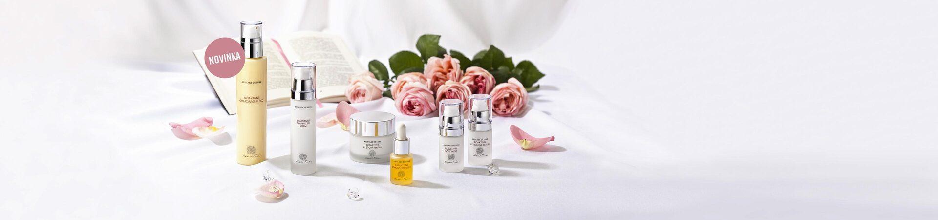 Sada kosmetických přípravků Nobilis Anti Age De Luxe s pravou růží