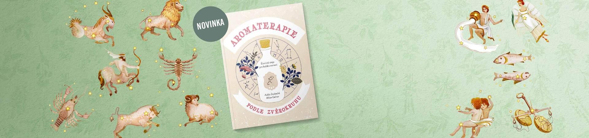 kniha aromaterapia podľa zverokruhu