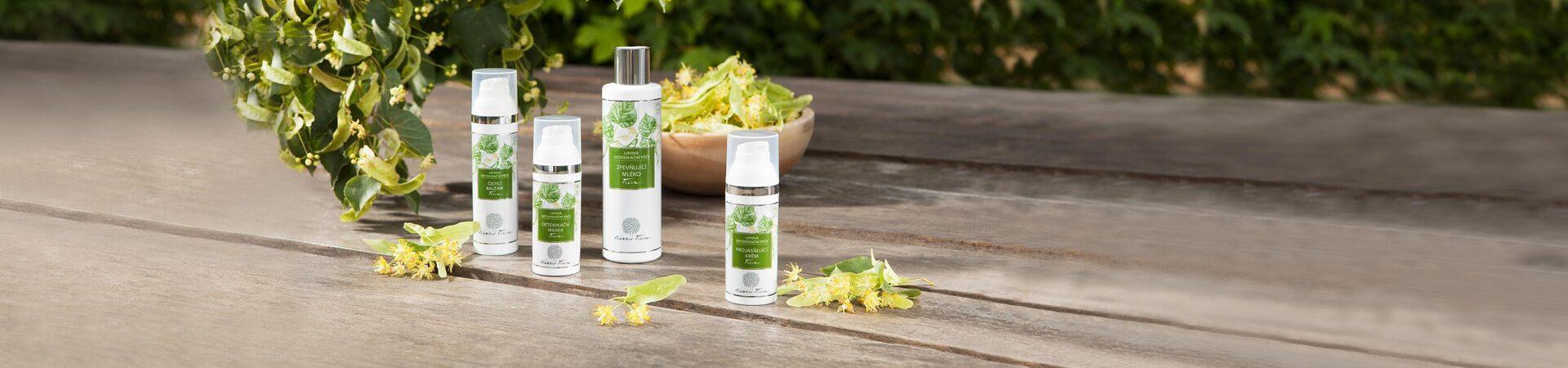 lipová detoxikační péče - přírodní kosmetika Nobilis Tilia