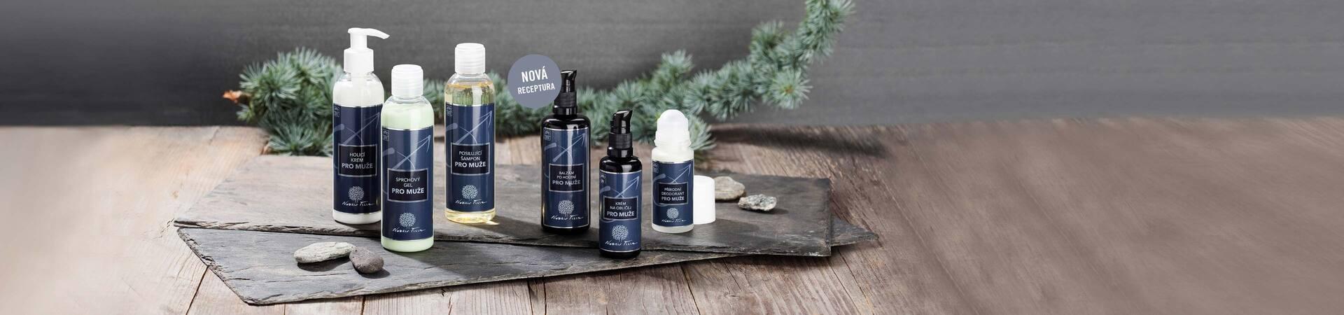 přírodní kosmetika pro muže - Nobilis Tilia