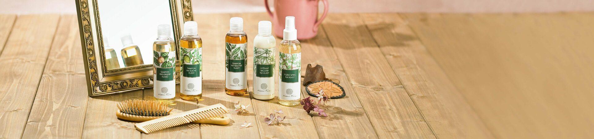 produkty vlasové kosmetiky - přírodní kosmetika Nobilis Tilia