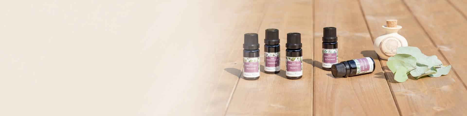 Obrázek kategorie Směsi éterických olejů