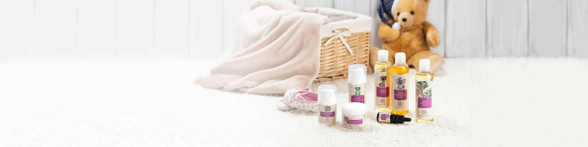Obrázek kategorie Přírodní kosmetika pro děti a novorozence