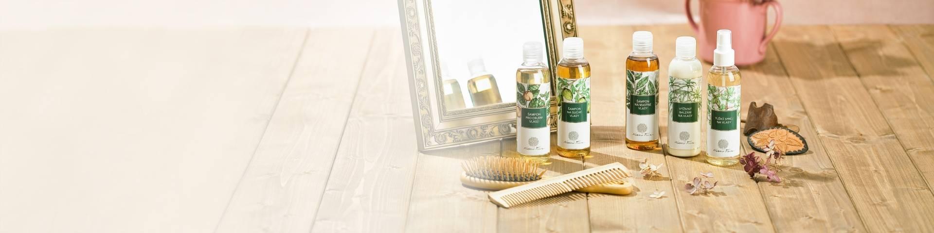 Obrázek kategorie Přírodní šampony a vlasová kosmetika