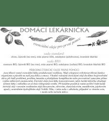 Propagační materiály - Leták - Domácí lékarnička - MAR001