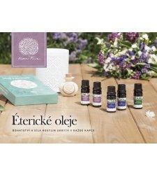 Propagačné materiály - Brožúra - Éterické oleje - MAR019