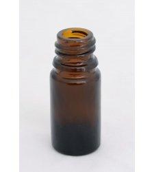 Obaly na kozmetiku - Fľaša hnedé sklo 5 ml - L0001
