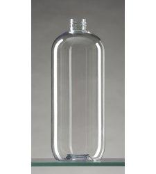 Obaly na kozmetiku - Fľaša + uzáver 1000 ml - L0010A