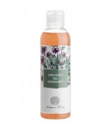 Přírodní sprchové gely a mýdla - Sprchový gel Geraniový - N0820I - 200 ml