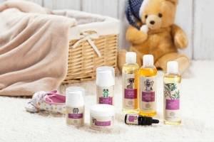 Přírodní kosmetika pro děti a novorozence