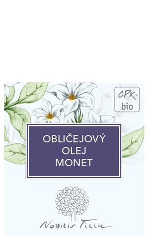 Tvárový olej Monet - vzorek sáček