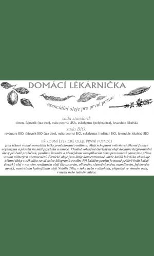Leták - Domácí lékarnička