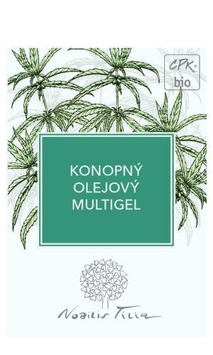 Konopný olejový multigel - vzorek sáček