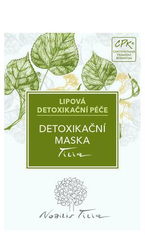 Detoxikačná maska Tilia - vzorek sáček
