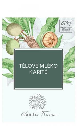 Telové mlieko Karité - vzorek sáček