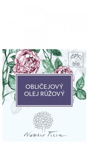 Tvárový olej Ružový - vzorek sáček