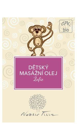 Dětský masážní olej Žofie 3 ml - vzorek sáček