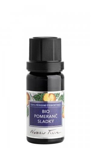 Éterický olej bio Pomeranč