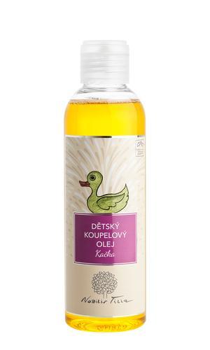 Dětský koupelový olej Kačka