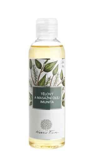 Telový a masážny olej Imunita