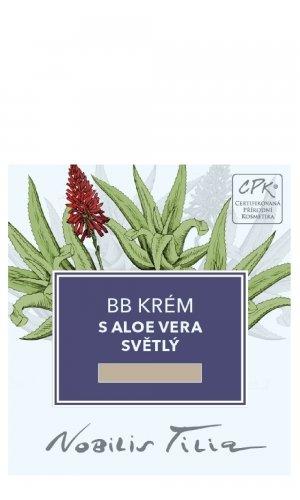 BB krém s Aloe vera svetlý 1 ml - vzorek sáček