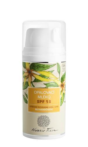 Opalovací mléko SPF 15