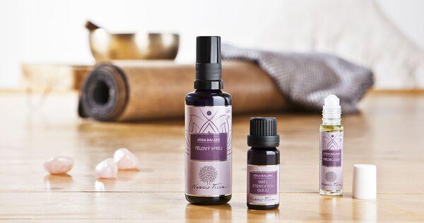 Produkty nové řady Jóga Balanc - přírodní kosmetika Nobilis Tilia
