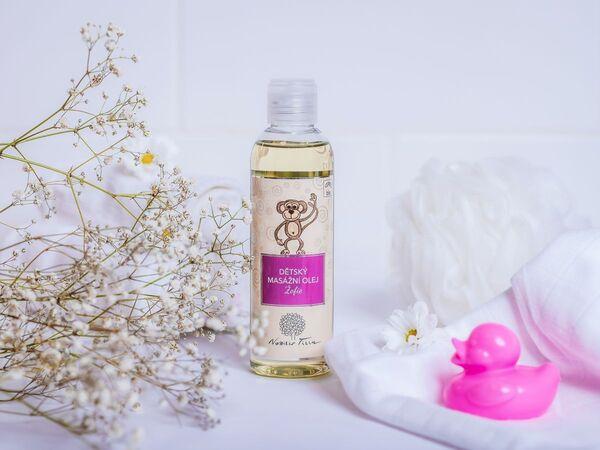 Masazny olej Žofie - prírodná kozmetika Nobilis Tilia