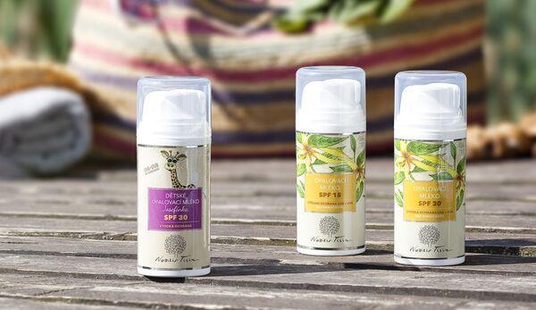 Opalovací kosmetika - přírodní kosmetika Nobilis Tilia