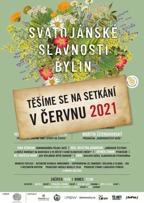 Program Svatojánských slavností bylin 2020 - přírodní kosmetika Nobilis Tilia
