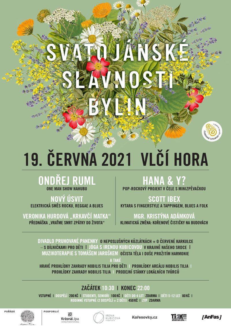 program Svatojánské slavnosti bylin 2021